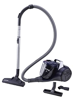 Hoover Breeze BR20 - Aspirador sin bolsa, Aspirador ciclónico, Filtro EPA, Cepillo para parquet, Cepillo suelos duros y alfombra, 700W, 78dBA, Depósito 2L, Potencia fija, Cable 8m, Azul: Hoover: Amazon.es: Hogar