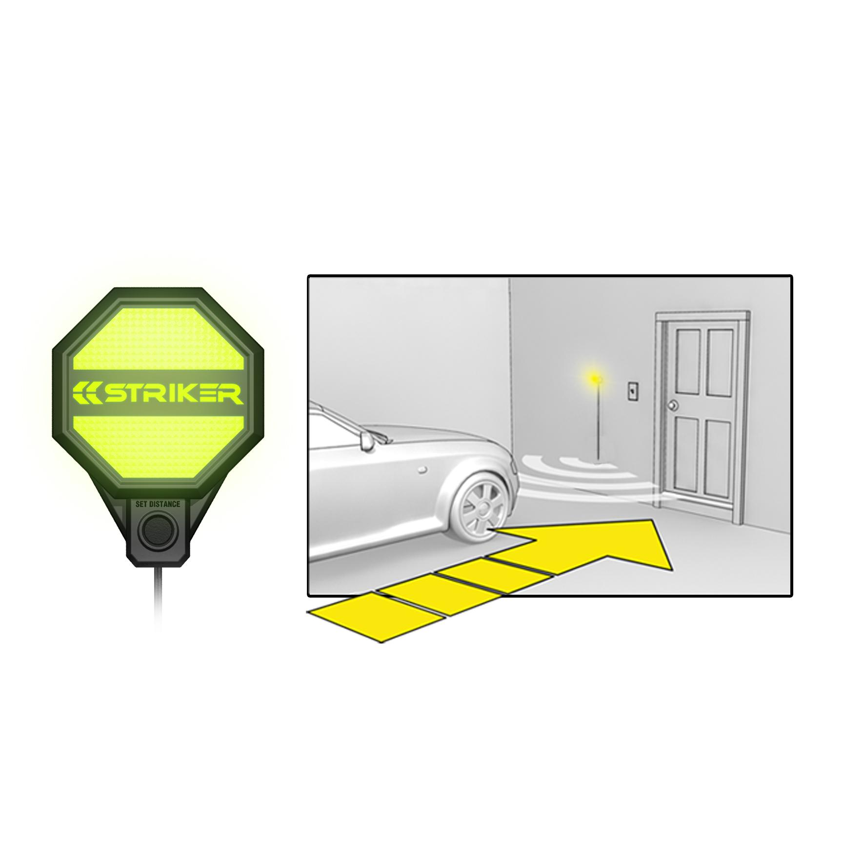 Striker Adjustable Garage Parking Sensor Parking Aid Ebay