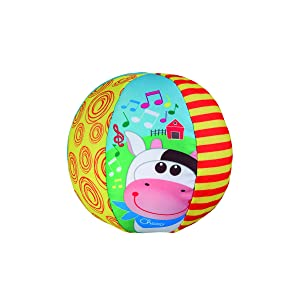 Chicco Ball Big & Small Pelota Musical, Multicolor, 6-12 Meses ...