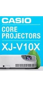 Casio XJ-V10X 079767468811 Hybrid laser projector LED LCD DLP HDMI Japan XGA HDMI Theater Office