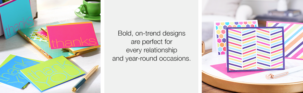 bold on trend designs are perfect for every relationship and year-round occasions