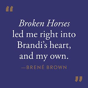 Brandi's story is about perseverance, humor, forgiveness, and manifestation...Elton John