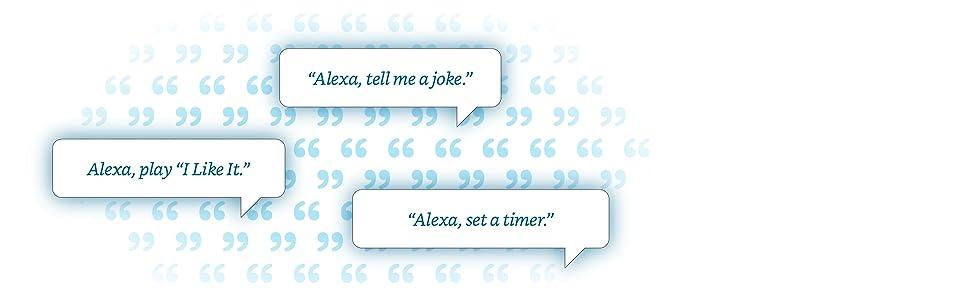 Just ask Alexa!