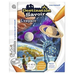 Ravensburger tiptoi jeux éducatifs jeux apprendre espcae