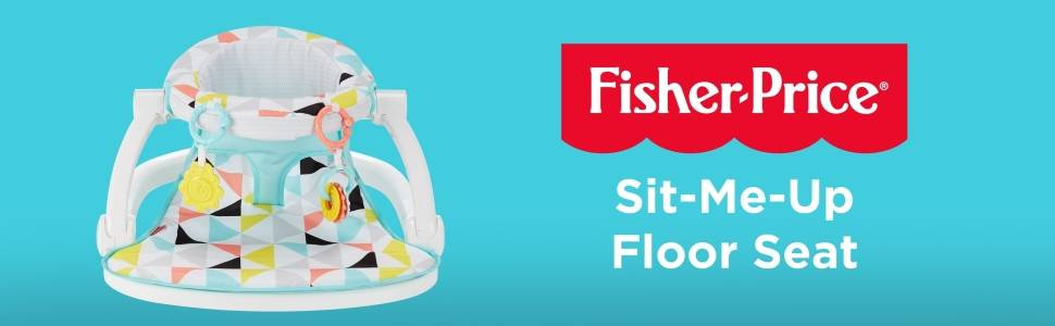 This portable infant seat helps your baby sit up and play!