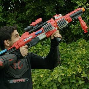 target, precision, accurate blaster, regnerator, strongarm blaster, nerf blaster