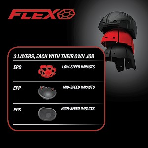 Bell moto 9 flex dirt bike helmet