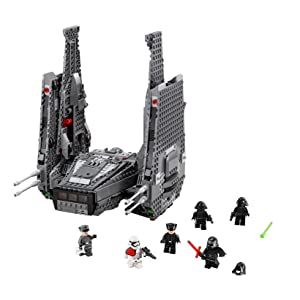 LEGO Kylo Ren's Command Shuttle Features and Functions