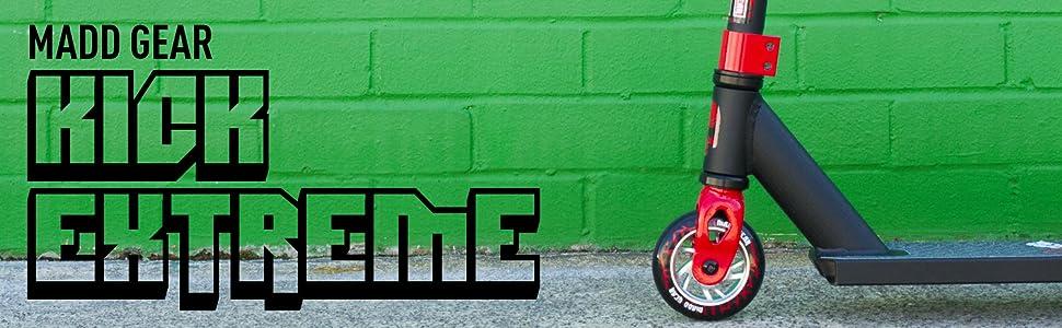 Amazon.com: Madd Gear Kick Extreme Pro Scooter: Sports ...