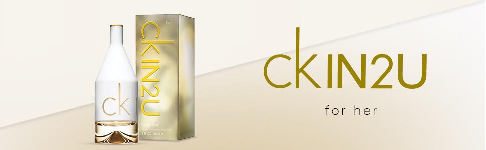 Calvin Klein CKIN2U for Her Eau de Toilette, 100 ml : Amazon.co.uk: Beauty