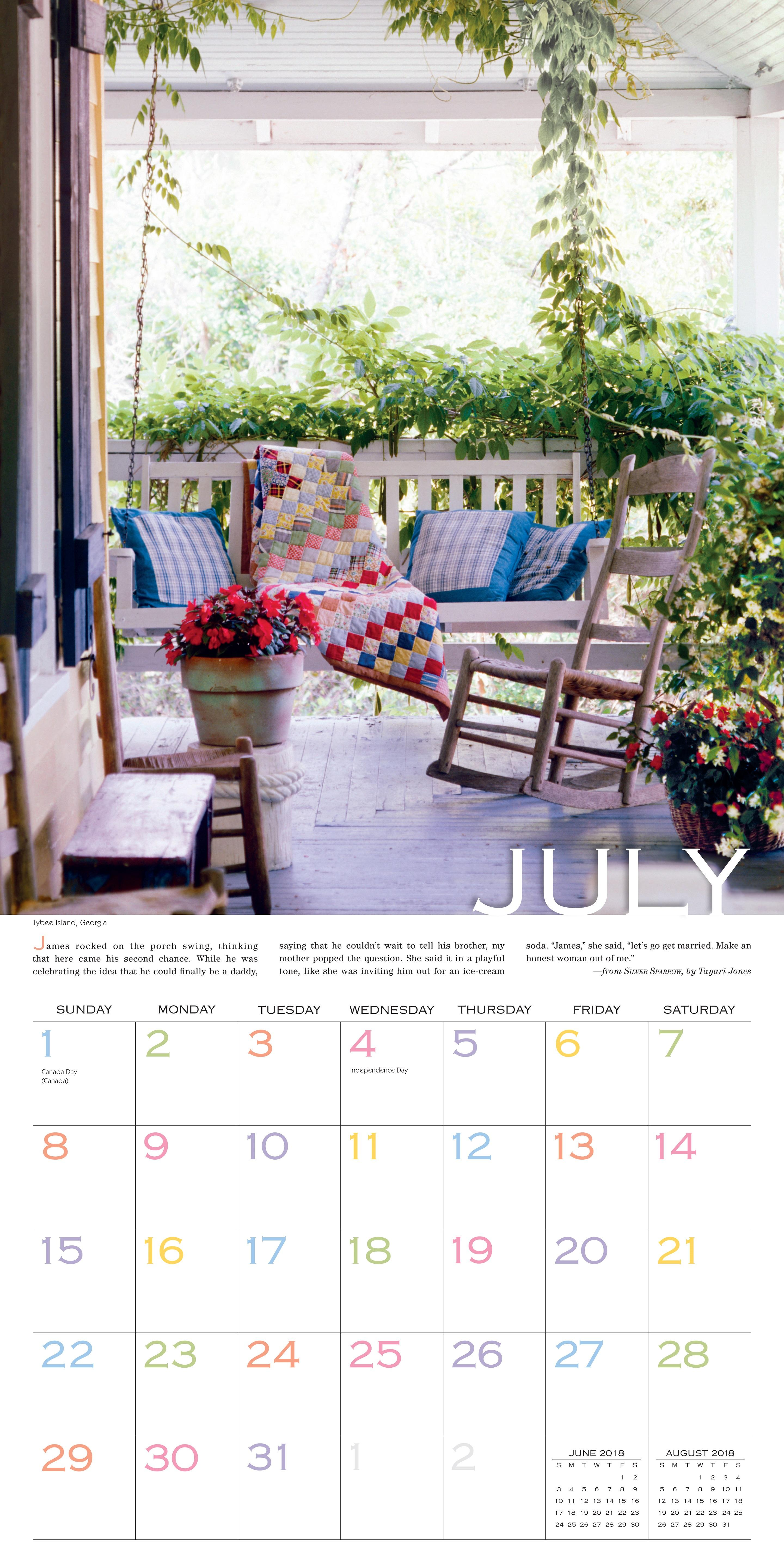 Out on the Porch Wall Calendar 2018: Workman Publishing ...