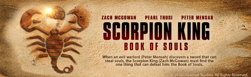 scorpion king book of souls movie cast