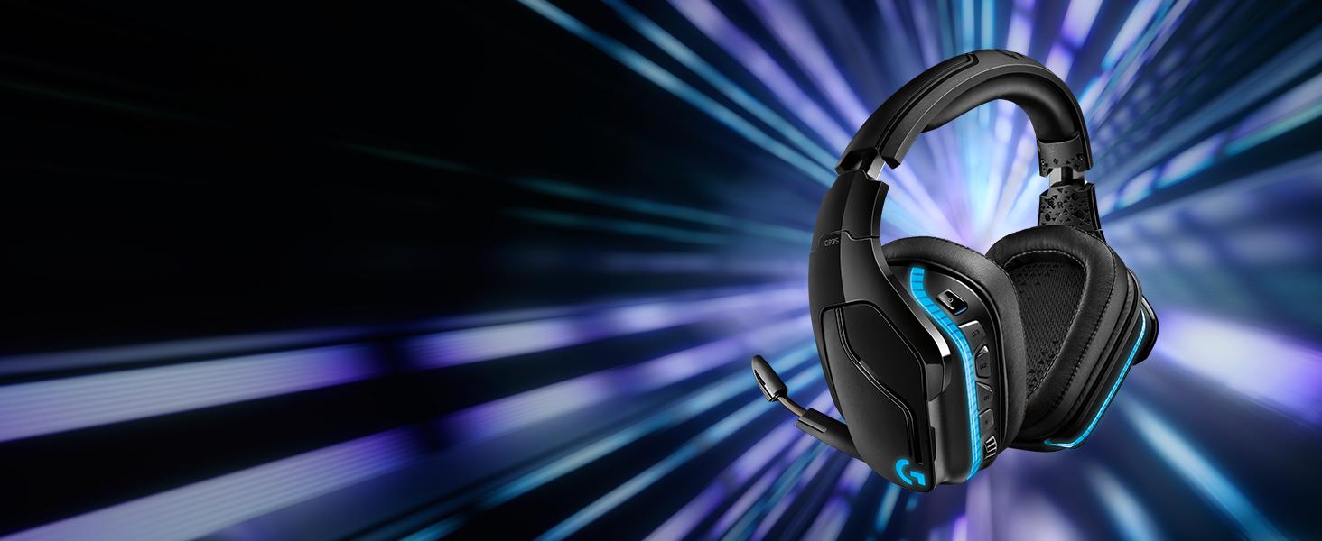 G935 7.1 Surround Sound Lightsync Gaming Headset
