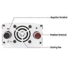 slimline inverter, slim inverter, best inverter, inverter review, 800w inverter, power converter