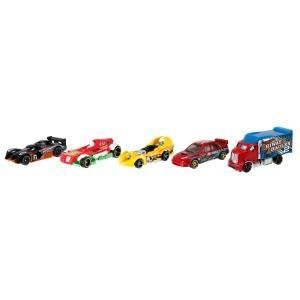 Hot Wheels Pack de 5 vehículos, coches de juguete (modelos ...