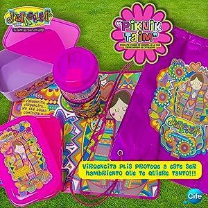 a92c487ac13a Virgencita - Distroller Kit Pa´Decorar El Diario Más Coqueto Del Mundo,  Color Multicolor (Cife 20)