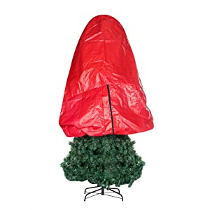 Tree Cover Christmas Trees Artificial Storage box bag plastic fake pine fir