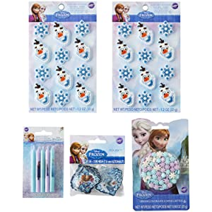 Wilton Disney Frozen Treat Decorating Set, 5-Piece