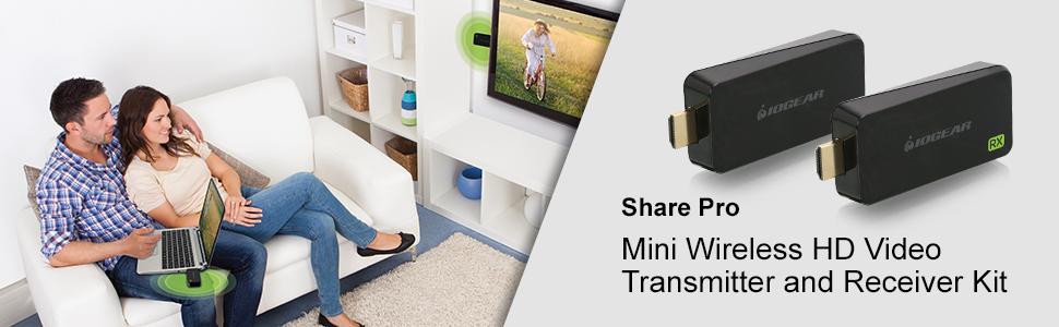 IOGEAR Wireless AV Transmitter, Receiver