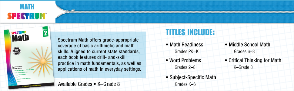 Spectrum Math Workbook, Grade 4: Spectrum: 9781483808727: Amazon.com ...
