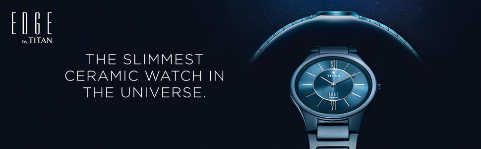 Mens Watch, Luxury Watch, Slim Watches, Titan Edge