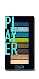 Revlon ColorStay Look Book Eyeshadow Palette - Eye Makeup in Matte, Satin, Shimmer & Metallic Finish