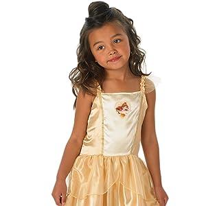 Princesas Disney - Disfraz de Rapunzel lila para niña, infantil 3-4 años (Rubies 886512-S)