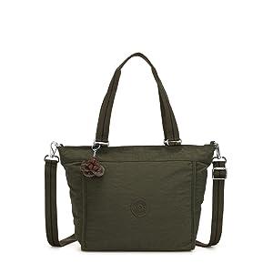 kipling Basic Plus Eyes Wide Open Art Mini Handbag Black Pylon Emb Schwarz