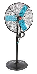 wall mounted oscillating fan; fans for garage