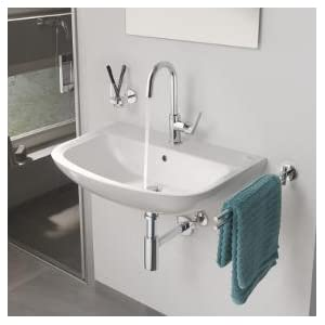Grohe set accessori bagno 3 in 1 essentials cube cromo 40777001 casa e cucina - Amazon accessori bagno ...