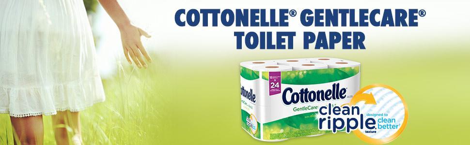 Amazon.com: Cottonelle GentleCare Double Rolls Toilet