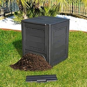 Compostador Organic Rattan 300 L: Amazon.es: Jardín