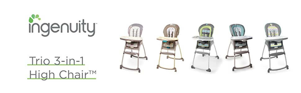 Chair Trio Vesper 4 Ingenuity Booster 1 Wheel 3 High In And ChairToddler 4R5ALj