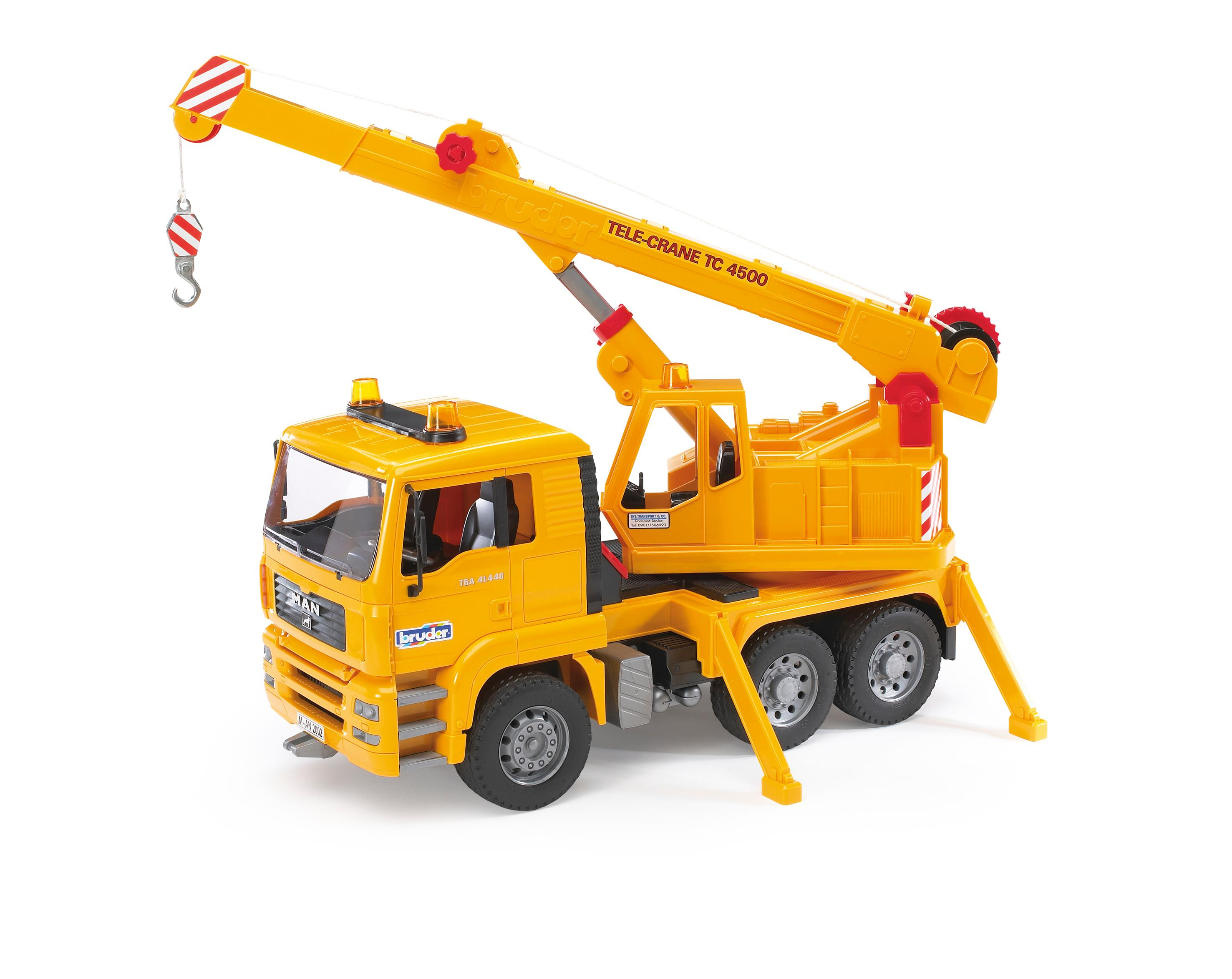 Bruder Construction Toys For Boys : Amazon bruder man crane truck toys games