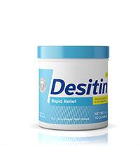 Desitin Rapid Relief Jar 16oz for Treating and Preventing Diaper Rash
