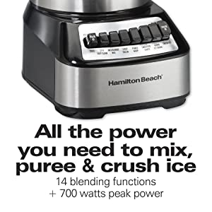 700 watts blender
