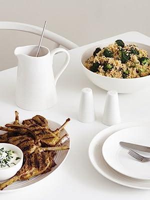 white dishes, bone china dishes