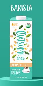 oatsome barista oat milk