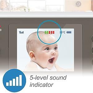 5 level sound indicator