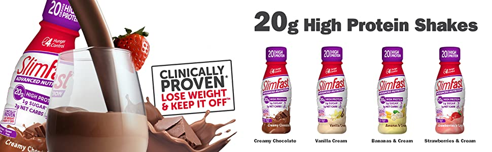 advanced nutrition banana creamy chocolate vanilla cream strawberries and cream