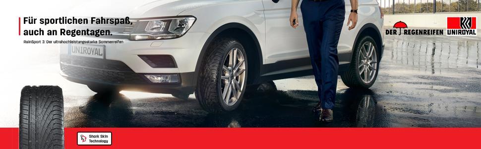 Uniroyal Rainsport 3 Fr 245 40r17 91y Sommerreifen Auto