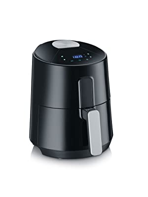Severin FR 2465 Freidora de aire sin aceite Comfort Premium, 1300 W, 3.5 litros, Negro/Acero: Amazon.es: Hogar