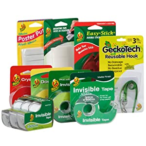 Duck Brand, The Trusted Brand For All Your Invisible Tape and Mounting Needs