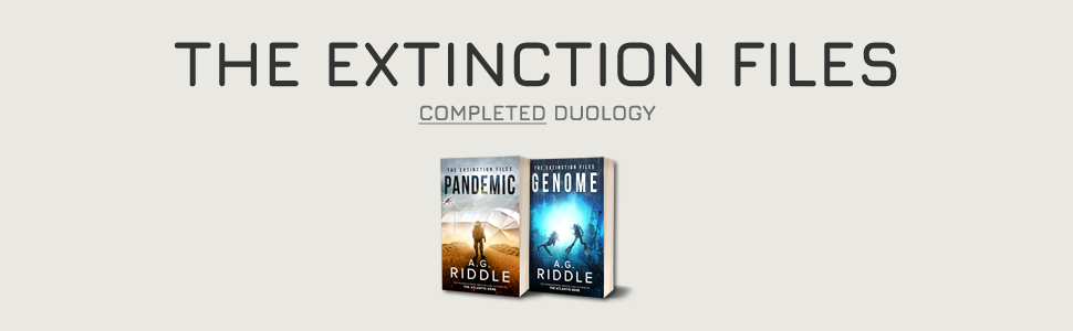 The Extinction Files, A.G. Riddle, Pandemic, Genome