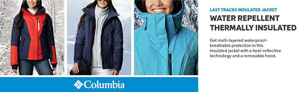Columbia Women's Last Tracks Insulated Ski Shell