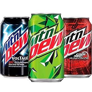 mountain dew soda pop