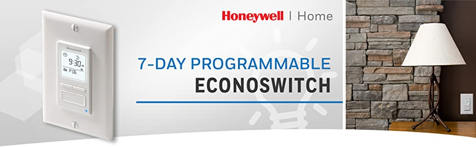 Honeywell Light Switch Timer, Honeywell Programmable Light Switch Timer, Honeywell Light Switch