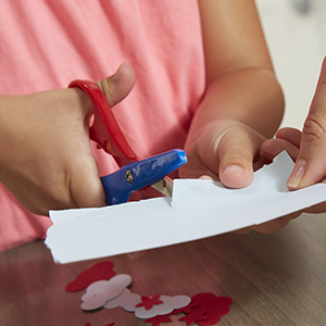 Impartial 1pc Plastic Scissors Safety Round Head Scissors For Kids Students Paper Cutting Supplies For Kindergarten School Scissors Office & School Supplies