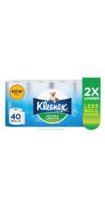 kleenex, kleenex double length, kleenex toilet tissue, toilet tissue, toilet paper