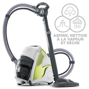 polti aspirateur sans sac multicyclonique nettoyeur vapeur unico mcv70 allergy multifloor. Black Bedroom Furniture Sets. Home Design Ideas